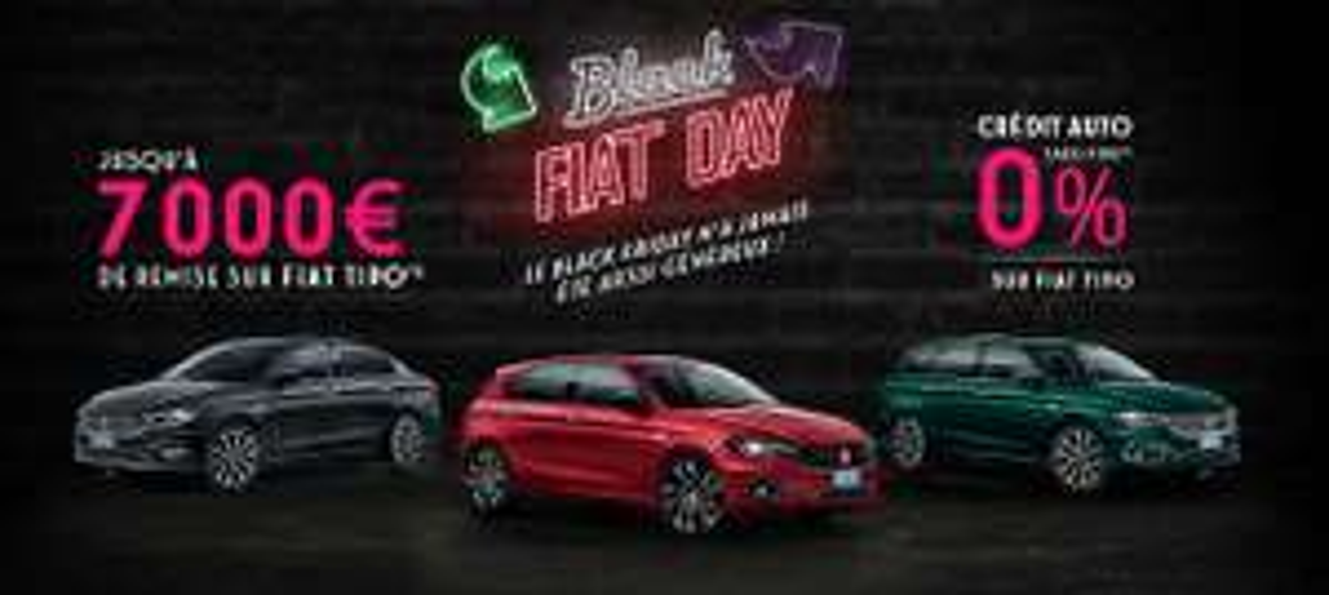 [Sous conditions] Crédit de 10000€ au taux fixe de 0% TAEG sur la gamme Fiat Tipo (37 mensualités)