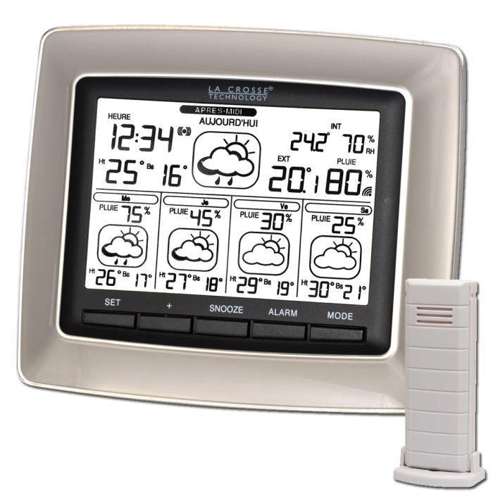 Station météo La Crosse Technology WD6006F-IT-SI-B