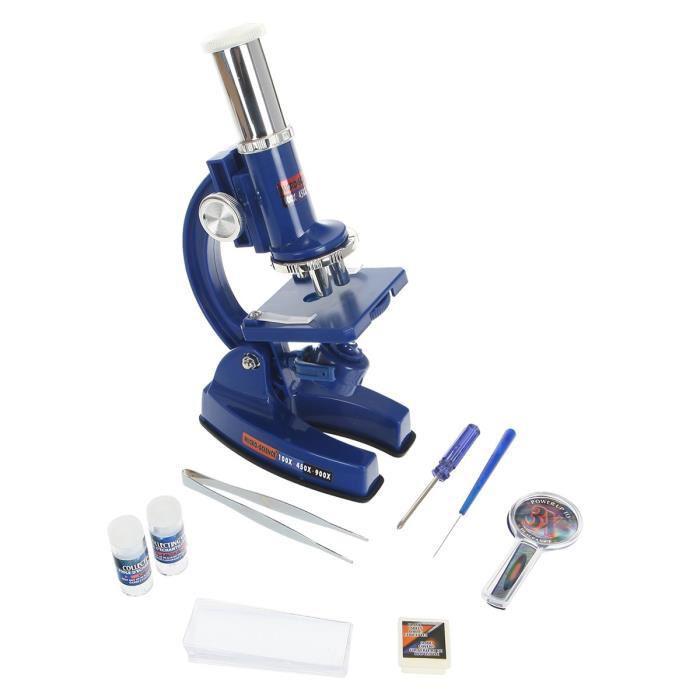Petit Microscope pour enfant + 32 Accessoires