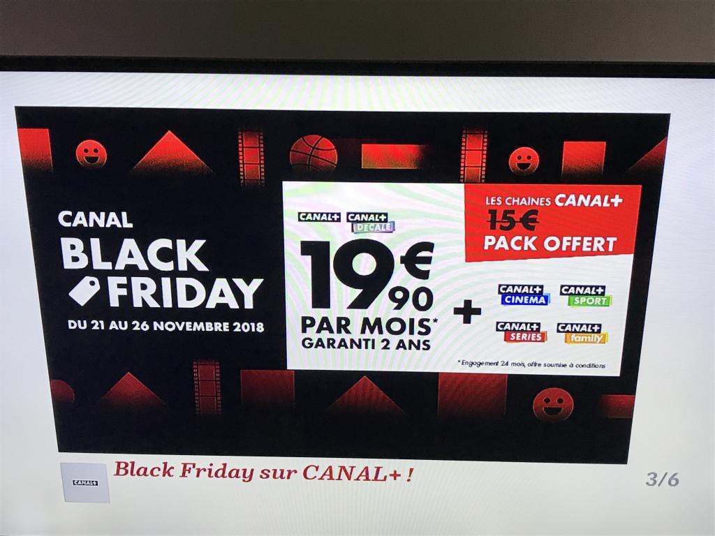 [Abonnés SFR] Abonnement au Bouquet Canal + à 19.90€/Mois (Engagement de 24 Mois)