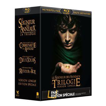 Coffret Blu-ray Le Seigneur des Anneaux - Trilogie (Version Longue) - 15 Disques (Edition Fnac)