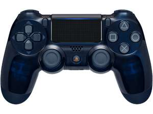 Manette Sony PS4 Dualshock - Edition limitée 500 Millions Navy Blue/Transparent (Frontaliers Allemagne)