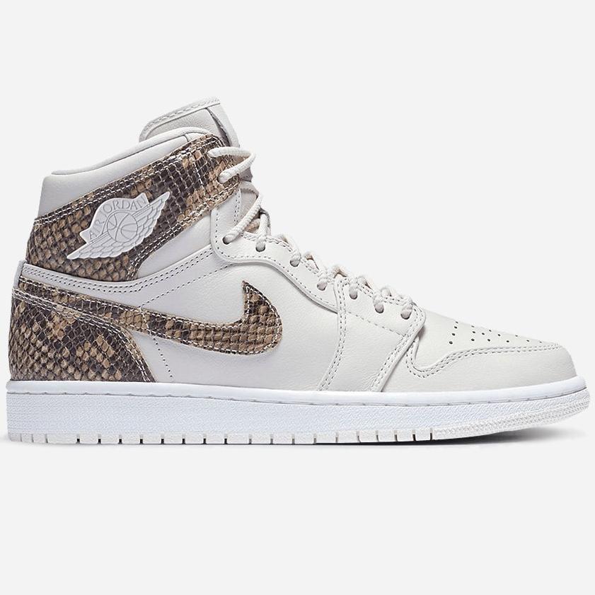 Baskets Nike Air Jordan 1 Retro High Premium - Phantom / White (Taille 37.5 à 40)