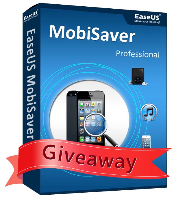 LIcence EaseUS MobiSaver Pro gratuite pour Windows & Mac