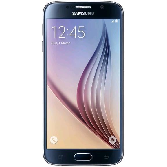 "Smartphone 5.1"" Samsung Galaxy S6 32 Go - Saphir noir ou Blanc"