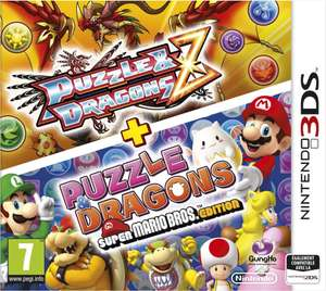 Jeu 3DS Puzzle and Dragons Z + Puzzle and Dragons Super Mario Bros