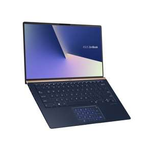pc portable 14 asus zenbook ux433fa a5045t bleu roi core i5 8go ram 256go ssd 1 1kg. Black Bedroom Furniture Sets. Home Design Ideas