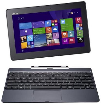 PC portable Hybride Asus T100TAF-DK006B - Rouge (via ODR de 50 €)
