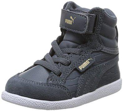 Chaussure enfant Puma Ikaz - Tailles 18 au 26 - Noir ou Gris