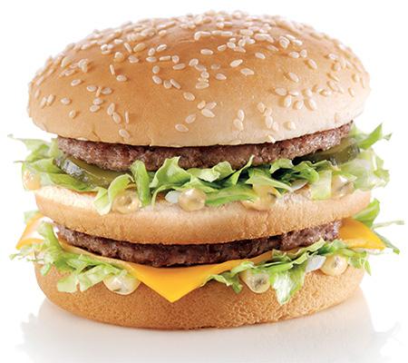 Big Mac à 2€ (sous commande en ligne)