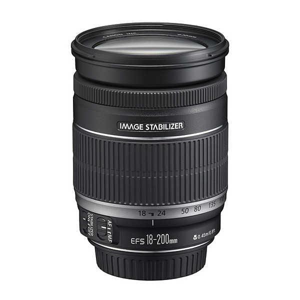 Objectif Canon 18-200mm (via ODR de 100€)