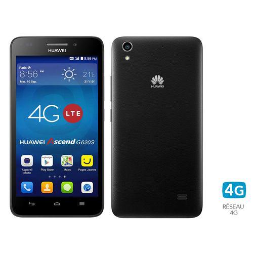 "Smartphone 5"" Huawei Ascend G620s (Android 4.4,  quadri-coeur 1,2 GHz, 1 Go ram, 8 Go Rom)"