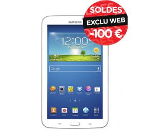 """Tablette 7"""" Samsung Galaxy Tab 3 - 7"""" - 8 Go - Blanche"""