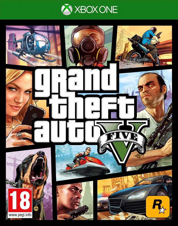 Grand Theft Auto V (GTA 5) sur Xbox One et PS4 (ColliShop.be)
