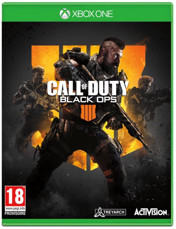 Jeu Call of Duty Black Ops 4 sur Xbox One, PS4 ou PC (Frontaliers Belgique)