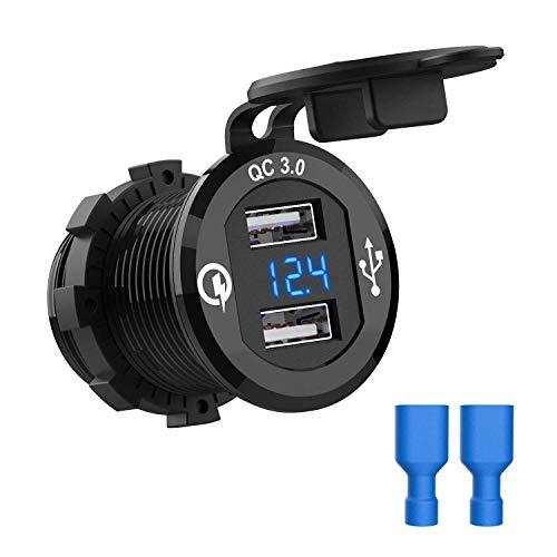 Chargeur de Voiture CHGeek - 2 Ports USB dont 1 Quick Charge 3 (Vendeur Tiers)