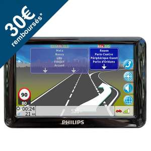 "GPS 5"" Philips PNS510 Cartographie Tomtom Europe 16 pays (via ODR 30€)"