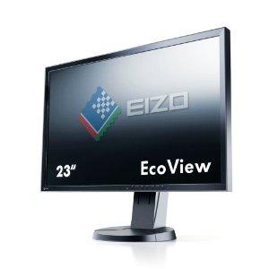"Ecran PC pour GRAPHISTE Eizo Flexscan EV2336WFS-BK Dalle IPS 23"""