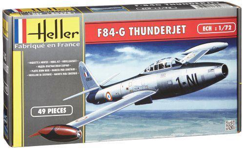 Maquette Heller - F-84G Thunderjet - Patrouille de France - n°80278