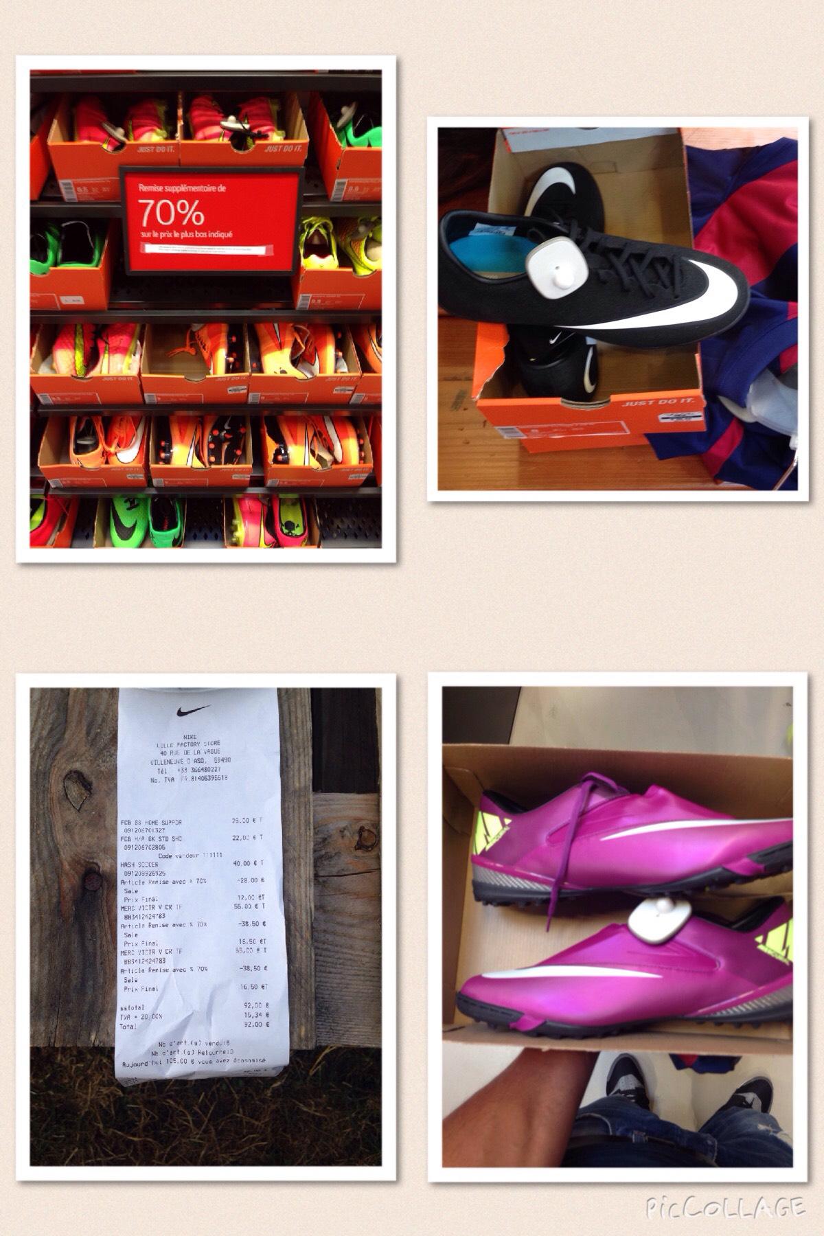 -70% sur les chaussures de football chez Nike - Ex: Nike mercurial