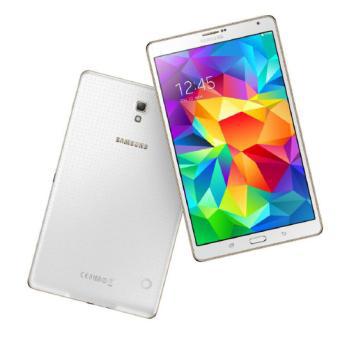 "[Offre adhérent] Tablette 8.4"" Samsung Galaxy Tab S - Wifi - 16Go Blanc (via ODR 50€ + 52,44€ en bons d'achat)"