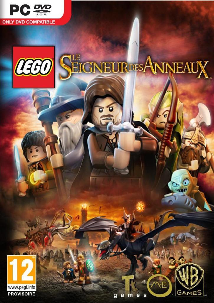 Lego le seigneurs des anneaux sur PC (Dématérialisé - Steam)