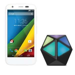 "Smartphone 4.5"" Motorola 4G - 8 Go + Moto Stream (via ODR 30€)"
