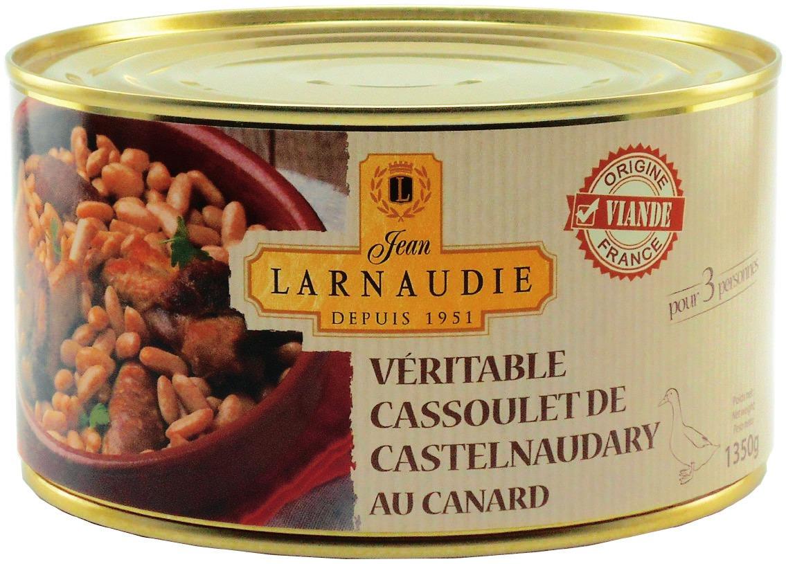 Cassoulet de Castelnaudary au Canard Jean Larnaudie - 1.35kg