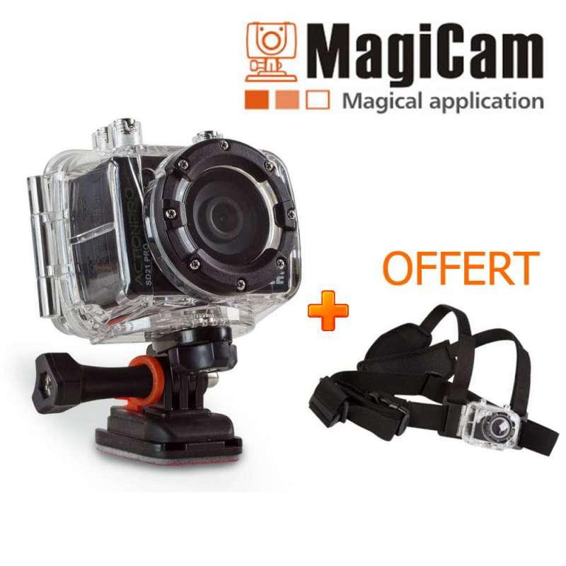 Caméra AEE MagiCam SD21 ACTIONPRO + Harnais offert