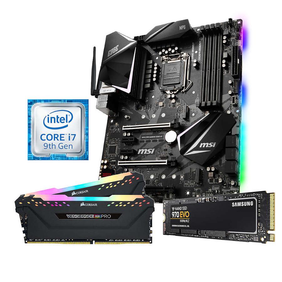 [Kit Oudouble] i7-9700K / MSI Z390 Gaming Edge AC / 16Go 2666 MHz / Samsung 970 EVO M.2 500 Go