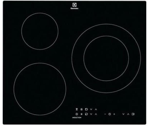 Plaque à induction Electrolux CIT60331CK - 3 zones - 7350 W