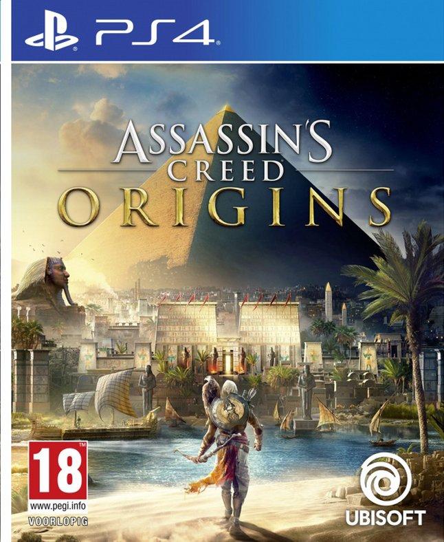 Assassin's Creed Origins sur PS4 (Frontaliers Belgique) - collishop.be