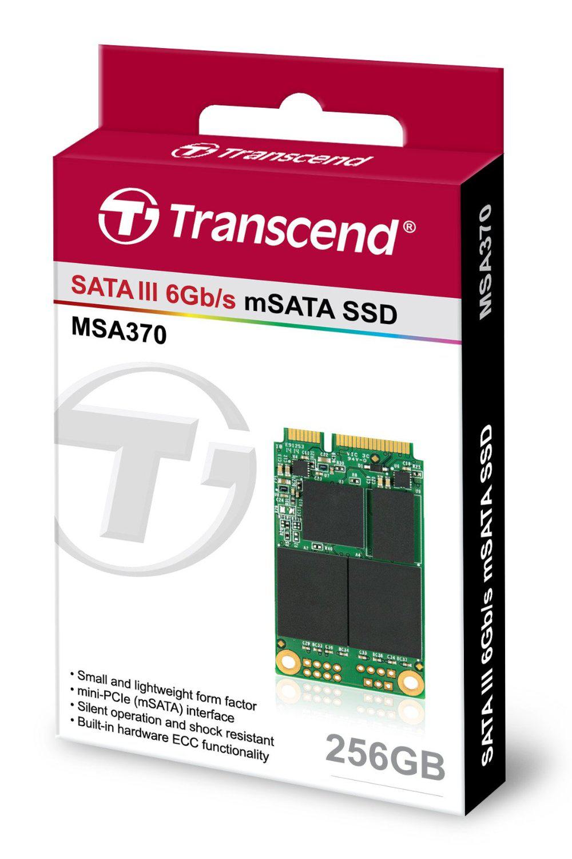 Disque SSD Transcend MSA370 256Go mSATA 6Gb/s
