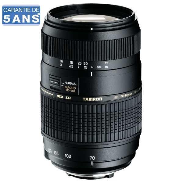 Objectif Tamron 70-300mm f/4-5.6 LD Di Monture Canon