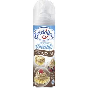 2 crèmes fouettées au chocolat Bridélice (BDR)