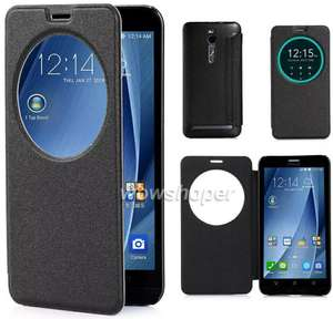 Etui Flip cover (non officiel) pour Asus Zenfone 2 - ZE551ML