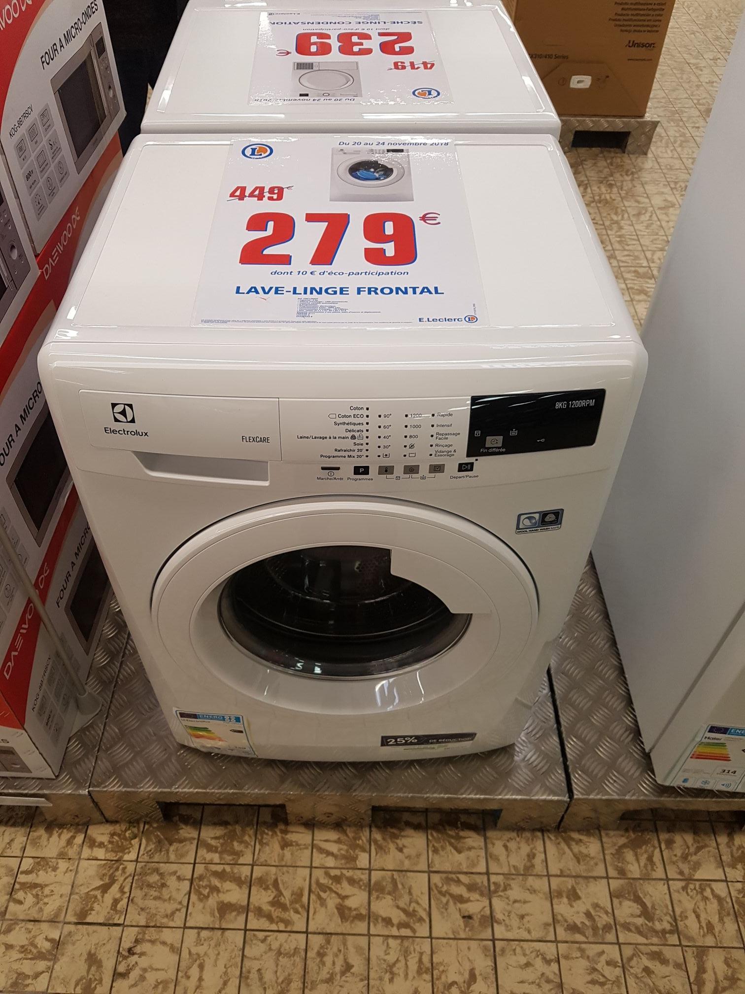 Lave-linge Electrolux 8kg - Décines (69)