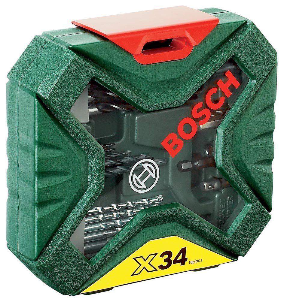 Coffret Bosch X-line 34 pièces pour vissage et perçage