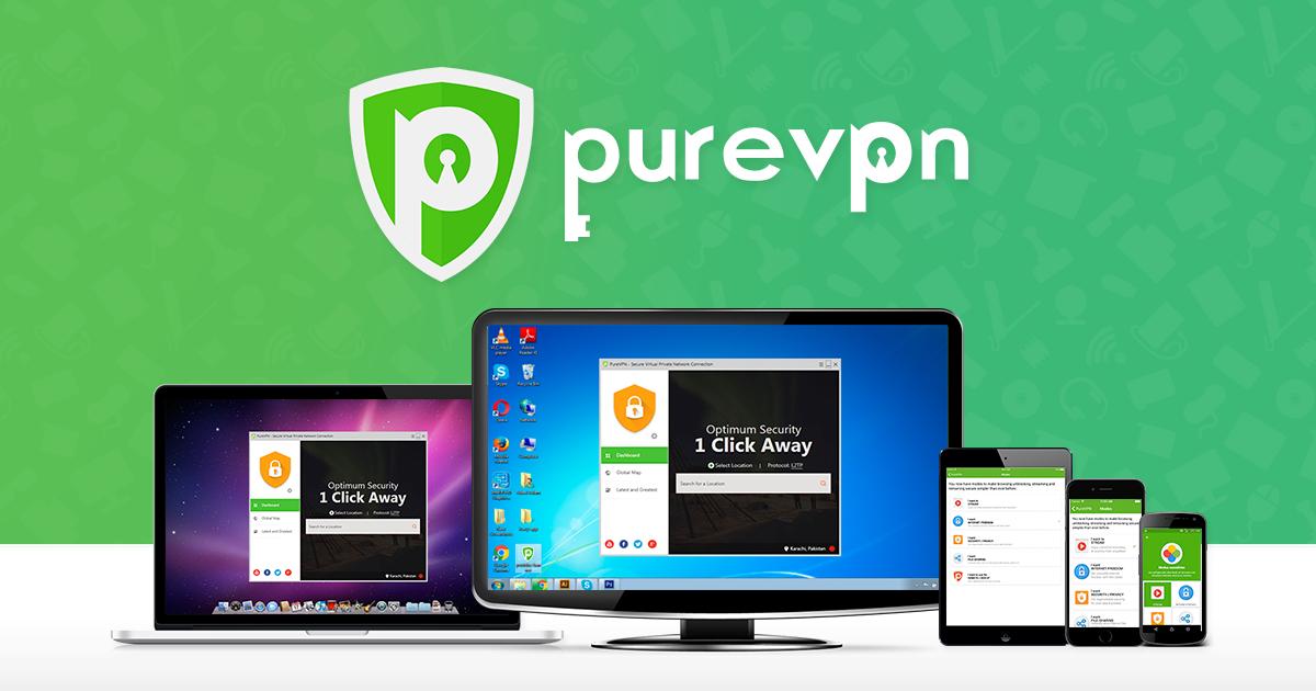 Abonnement de cinq ans au VPN PureVPN