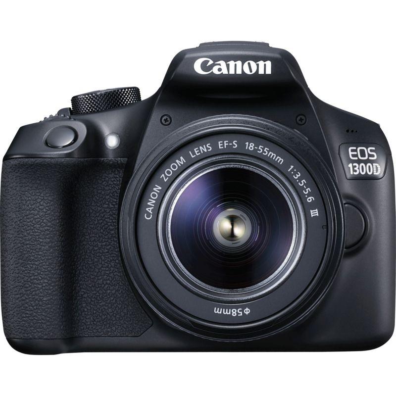 Kit Appareil photo Reflex Canon EOS 1300D + Objectif 18-55 mm III