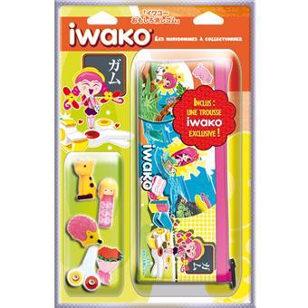 Pack Iwako Rentrée des Classes (1 trousse + 5 gommes)
