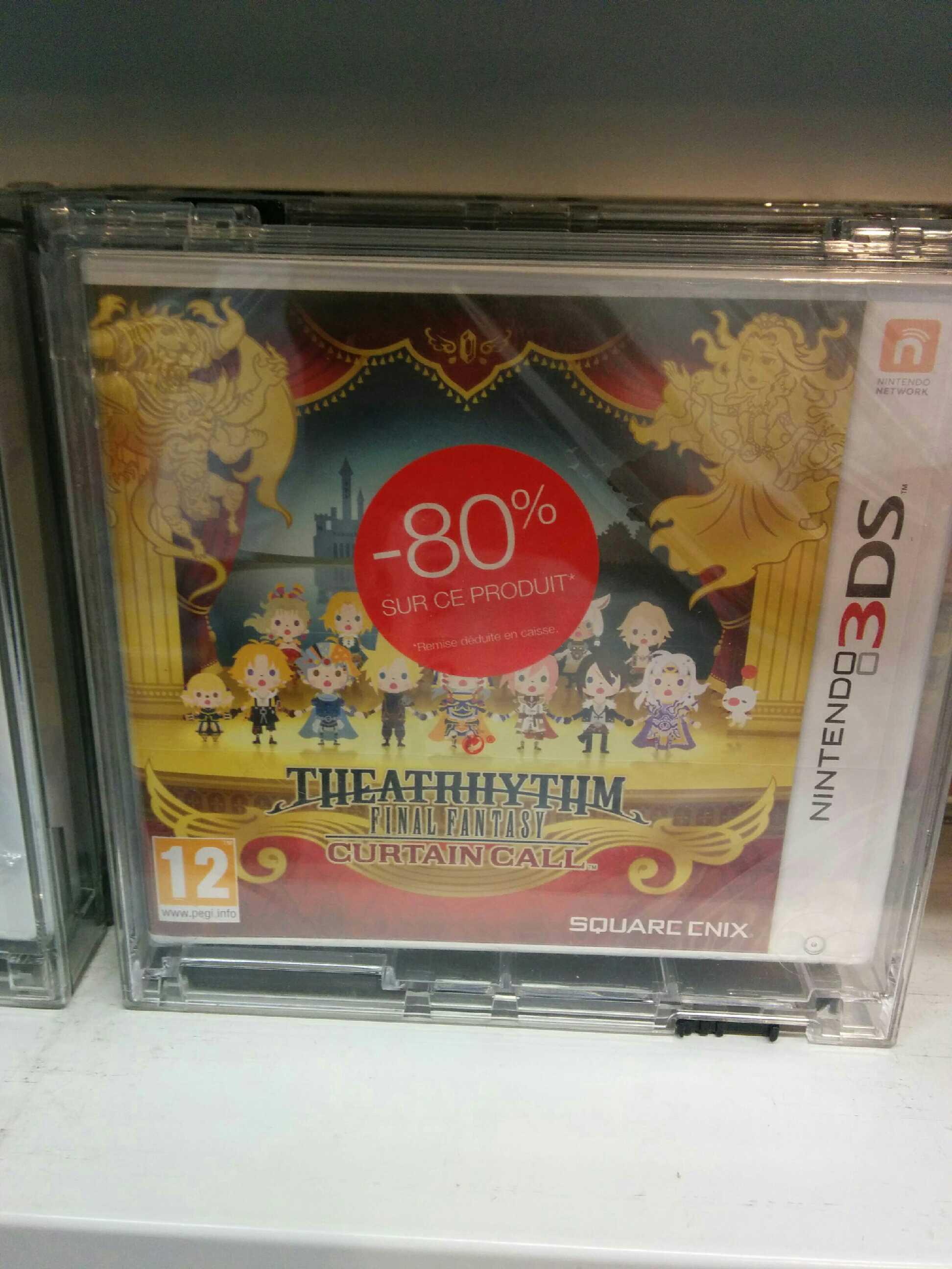 Jeu Theatrhythm Final Fantasy Curtain Call sur 3DS