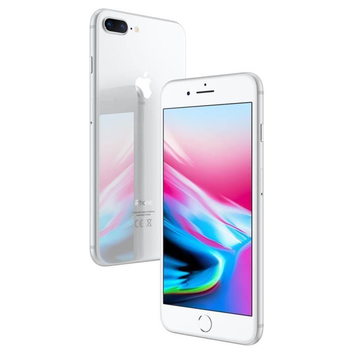 """Smartphone 5.5"""" Apple iPhone 8 Plus - 64 Go, argent"""