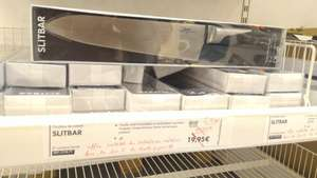 Selection de produits soldés - Ex : Couteau slitbar - 21cm