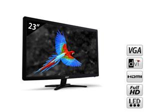 ACER  Ecran LED 23'' VGA / DVI / HDMI - 5 ms