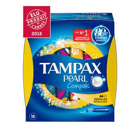 Paquet de Tampax Pearl Compact Regular Gratuit (Via BDR Envie de Plus + ODR Quoty / CN / TF1 Conso)