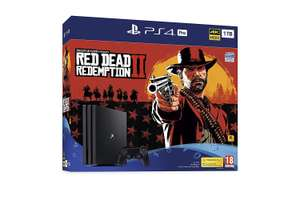 Pack Console Sony PS4 Pro 1To + Red Dead Redemption 2 (ebuzz.ie)