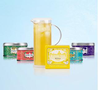 Une miniature de thé glacé de 20g ou 25g offerte pour toute commande
