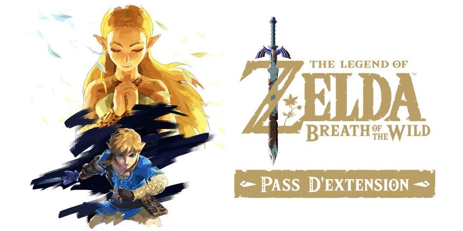 Pass d'extension The Legend of Zelda: Breath of the Wild sur Nintendo Switch (Dématérialisé)