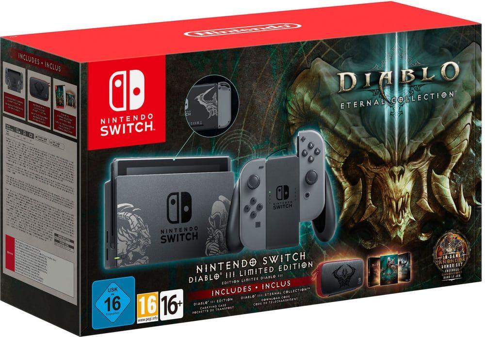 [Carte Cumulus] Console Nintendo Switch Edition Limitée Diablo III + Jeu Diablo III + Housse de transport (Frontaliers Suisse)